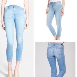 DL1961 Bardot High Rise Cropped Eyre Jean